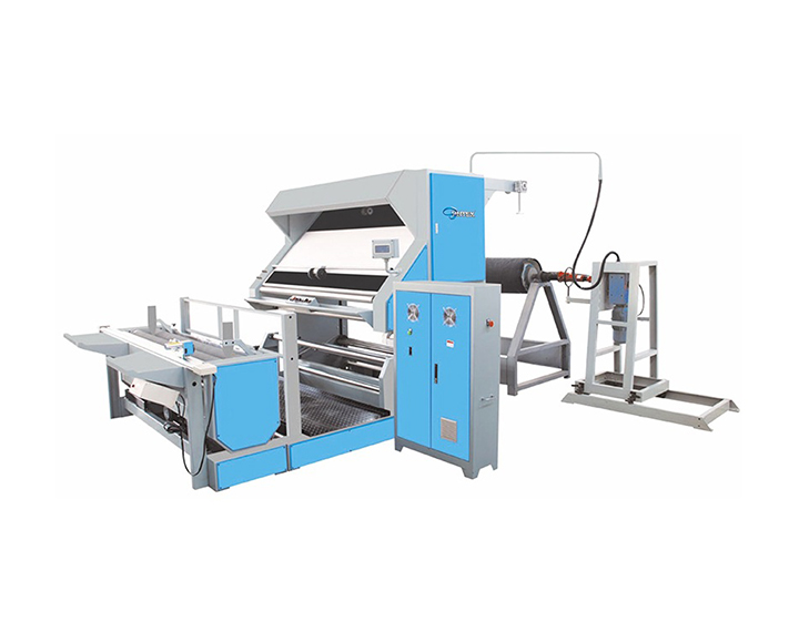ST-BM-01 FABRIC WINDING MACHINE (WITH DIRECT CENTRE DRIVEN SYSTEM )