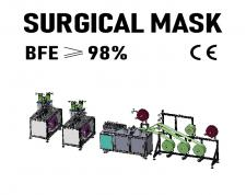 SEMI-Automatic Surgical Face Mask Machine