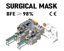 Automatic Medical Surgical Face Mask Machine