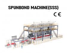 ST-ASS(SSS) Spunbond Non-woven Fabric Production Line