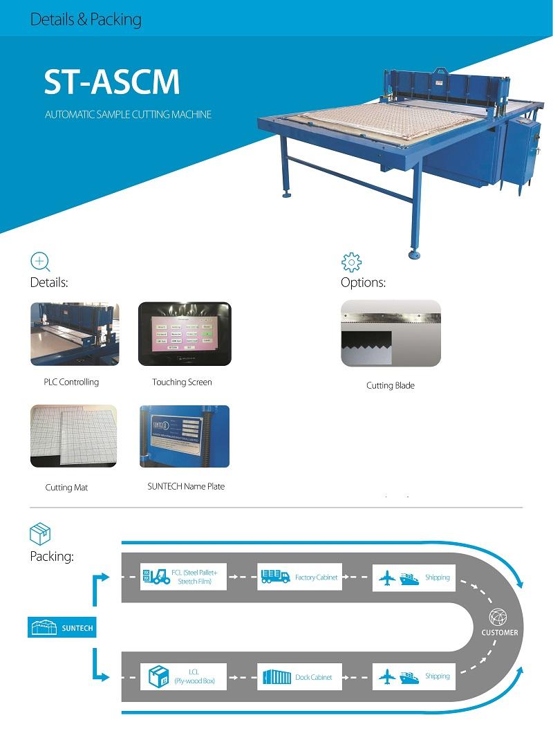 Suntech Fabric Sample Cutting Machine